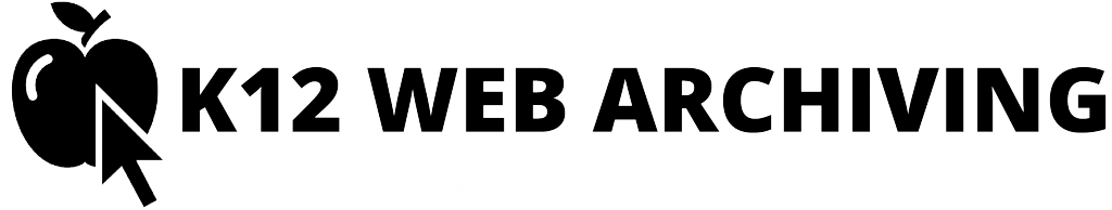 K12 Web Archiving logo