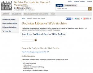 Bodlein Libraries