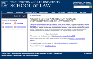 Washington & Lee School of Law
