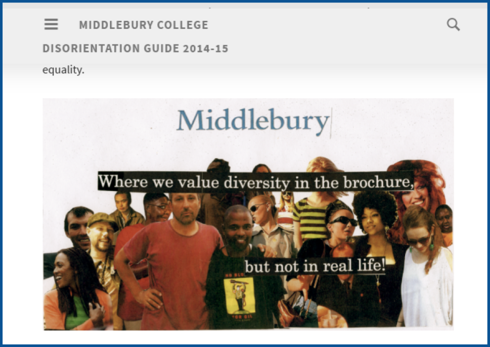 middlebury community essay One question that has been nagging us here at the middlebury community network science center (our desk this was a graduate essay written by chad cooper.
