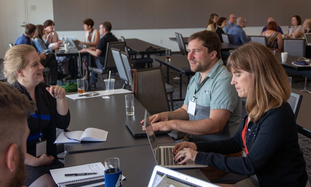 Photo of the Archive-It partners meeting in Austin, TX