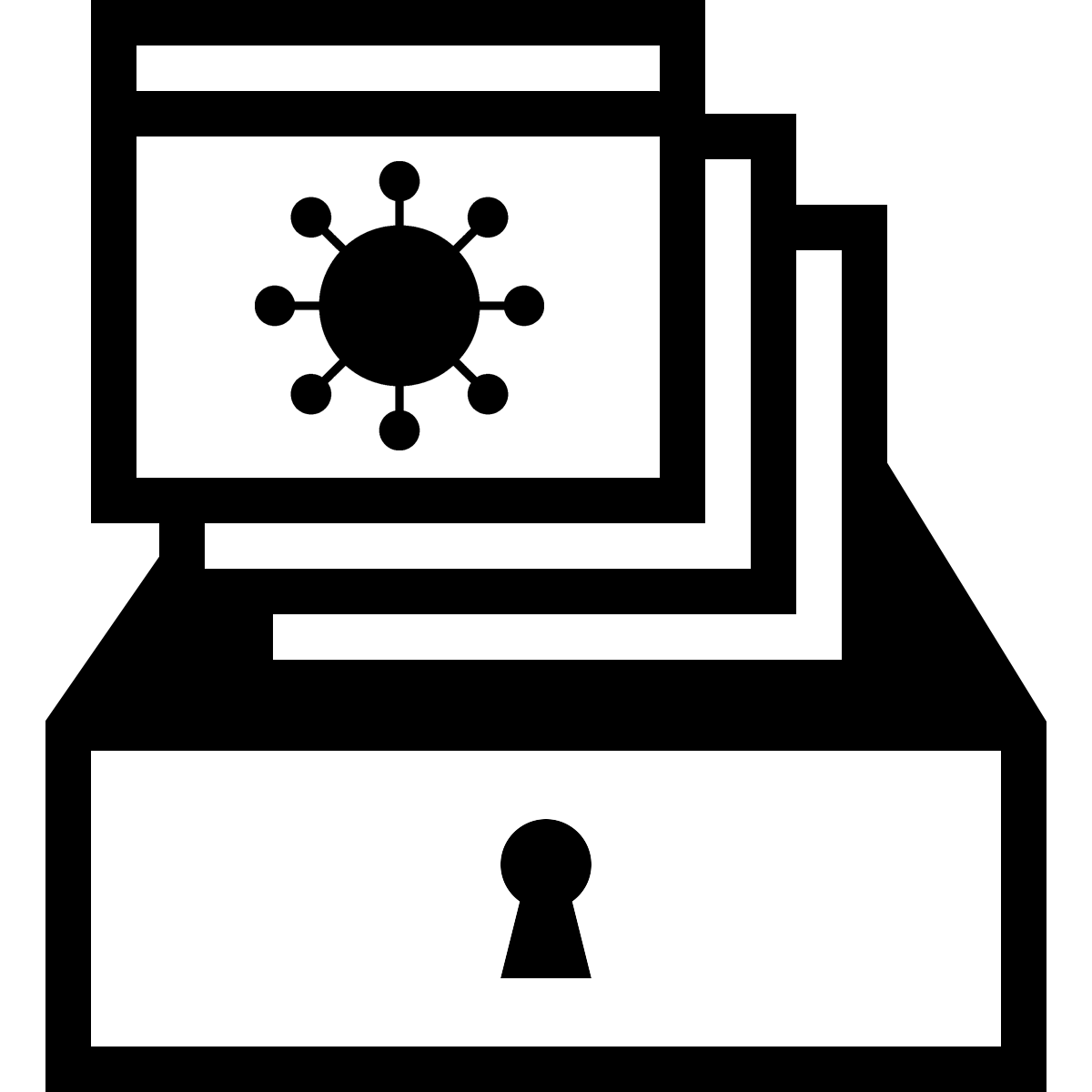 COVID-19 Collecting Campaign icon