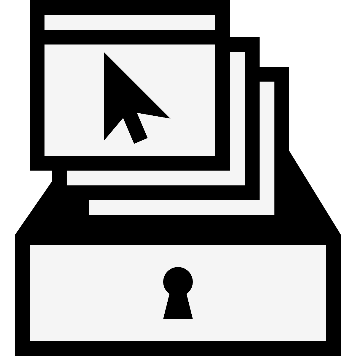 Web archiving icon
