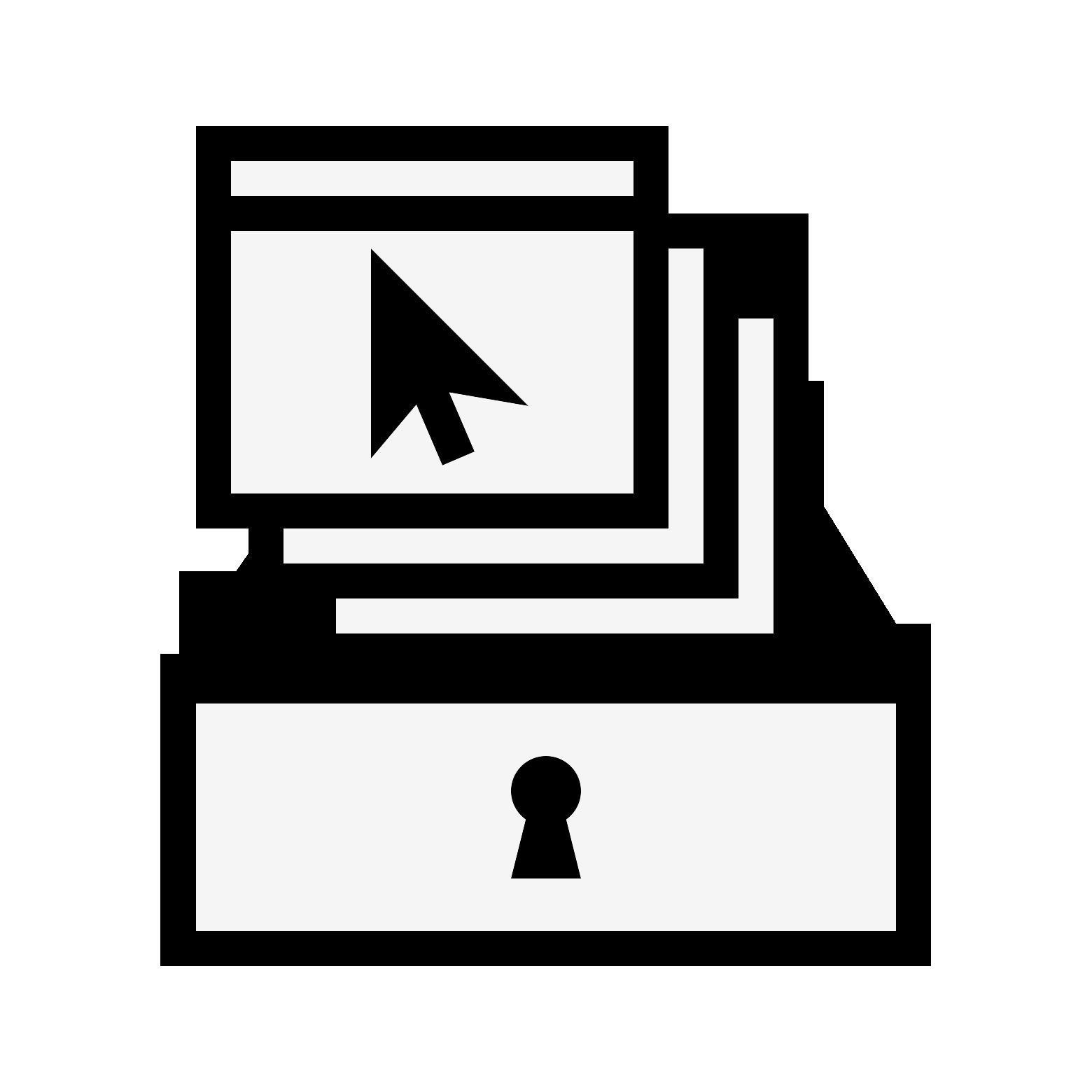 Web archiving public domain icon
