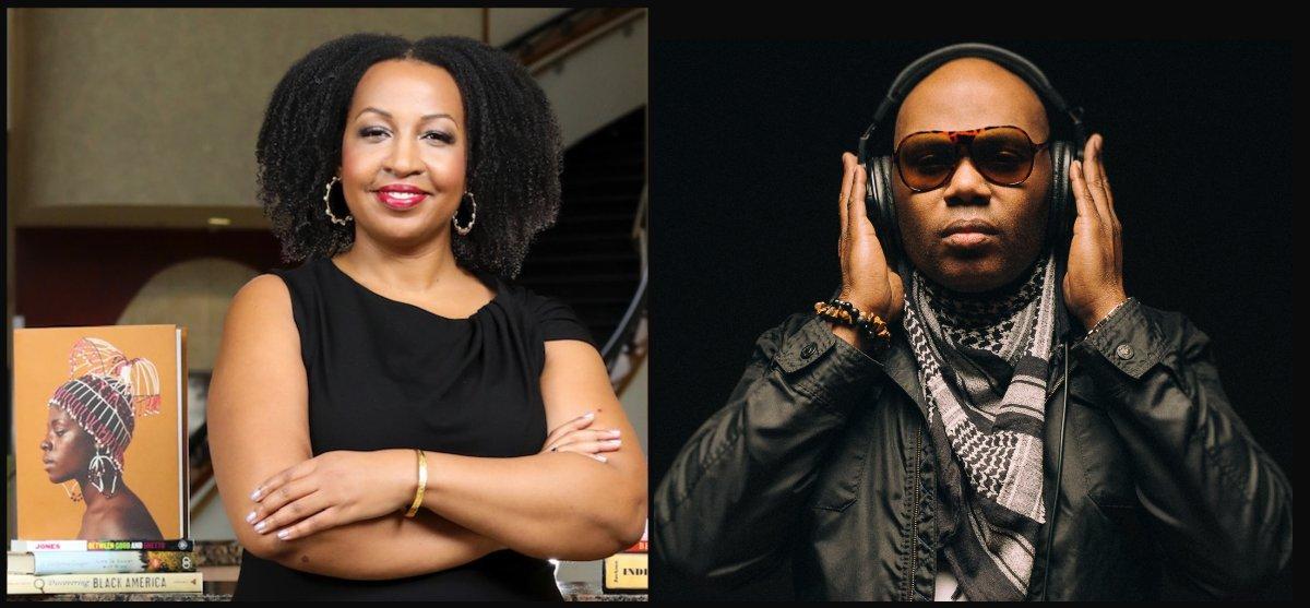 Headshots of Makiba J. Foster and Lamar Harris