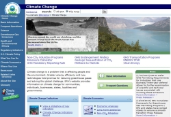 capture from Climate change and environmental policy