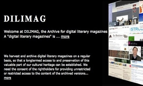 capture from DILIMAG (Digital Literary Magazines)