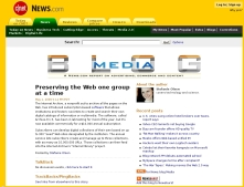 Preserving the Web one group at a time
