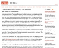 Open Folklore + Community Arts Network